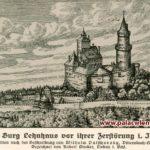 Zamek Wleń - rycina