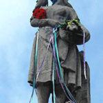 Pomnik Gołębiarki we Wleniu